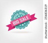 price tag design | Shutterstock .eps vector #256836319