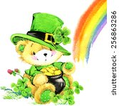 St. Patrick\'s Day And Teddy...