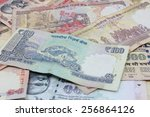 indian rupee | Shutterstock . vector #256864126