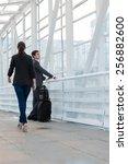 business people in urban... | Shutterstock . vector #256882600