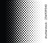 halftone dots pattern gradient... | Shutterstock .eps vector #256939540
