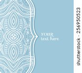 abstract background  wedding... | Shutterstock .eps vector #256950523