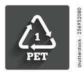 pet 1 icon. polyethylene...