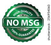 green metallic no msg high... | Shutterstock . vector #256954060