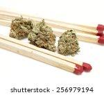 marijuana  | Shutterstock . vector #256979194