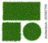 Green Grass Banners  Vector...
