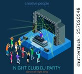 Night Club Dance Dj Party Flat...