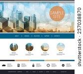 website design for your... | Shutterstock .eps vector #257038870