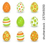 Bright Decorated Easter Eggs  ...
