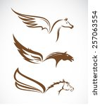 Vector Image Of An Pegasus...