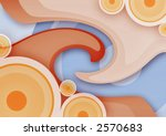 abstract vintage background... | Shutterstock . vector #2570683