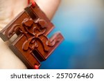 the swastika symbol is... | Shutterstock . vector #257076460