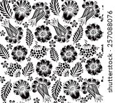 Ethnic Floral Seamless Pattern...