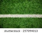 green grass field  soccer field | Shutterstock . vector #257094013