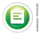 document icon | Shutterstock .eps vector #257101120