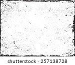 grunge frame abstract texture... | Shutterstock .eps vector #257138728