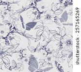 Seamless Floral Pattern With A...