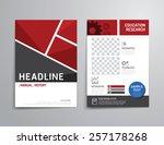 vector brochure  flyer ...   Shutterstock .eps vector #257178268