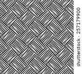 seamless black and white weave... | Shutterstock .eps vector #257179900