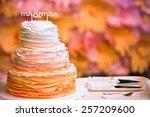 Bright Wedding Cake  With Mr...