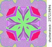 circular pattern of floral...   Shutterstock .eps vector #257219896