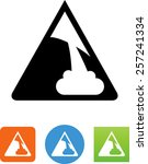 avalanche icon | Shutterstock .eps vector #257241334