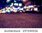 nights lights of the big city ... | Shutterstock . vector #257244526