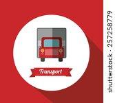 transportation vector design | Shutterstock .eps vector #257258779