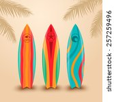 Surf Boards With Different...