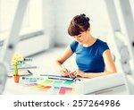 interior design and renovation... | Shutterstock . vector #257264986