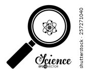 science design over white... | Shutterstock .eps vector #257271040