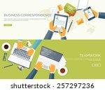 communication chatting.flat...   Shutterstock .eps vector #257297236