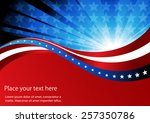 abstract image of the american... | Shutterstock .eps vector #257350786