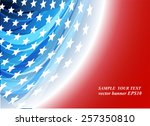 abstract image of the american... | Shutterstock .eps vector #257350810