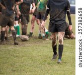 Rugby  Muddy Game Of Rugby ...