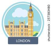 Big Ben And Westminster Bridge  ...