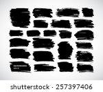 abstract watercolor design... | Shutterstock .eps vector #257397406