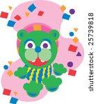 dancing bear | Shutterstock .eps vector #25739818
