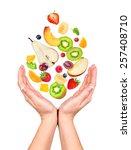 concept  slim figure in your... | Shutterstock . vector #257408710