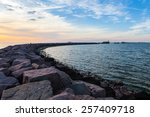 Breakwater With Gates And...