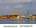 klaipeda lithuania march 02... | Shutterstock . vector #257430670