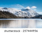 Helvellyn Above Thirlmere...