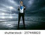 the hero | Shutterstock . vector #257448823