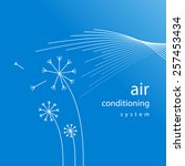 air conditioner   conditioning ... | Shutterstock .eps vector #257453434