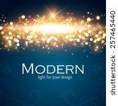 shining blur bokeh background... | Shutterstock .eps vector #257465440