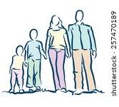 family   Shutterstock .eps vector #257470189