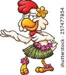 Hawaiian Chicken Dancing....