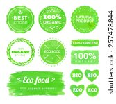 set of badges and labels for... | Shutterstock .eps vector #257478844