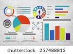 planning plan strategy data...   Shutterstock . vector #257488813