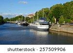 turku  finland   july19  2013 ... | Shutterstock . vector #257509906